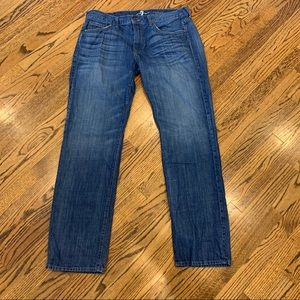 7 FOR ALL MANKIND Jeans Carsen Easy Straight 36